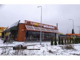 Молниезащита ресторана сети McDonalds