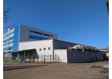 Молниезащита производственного здания ООО «Фарма Старт»