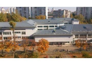 Молниезащита школы в Оболонском районе
