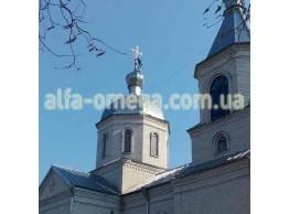 Православный храм в с. Рудницкое, Барышевского района, Киевской области.